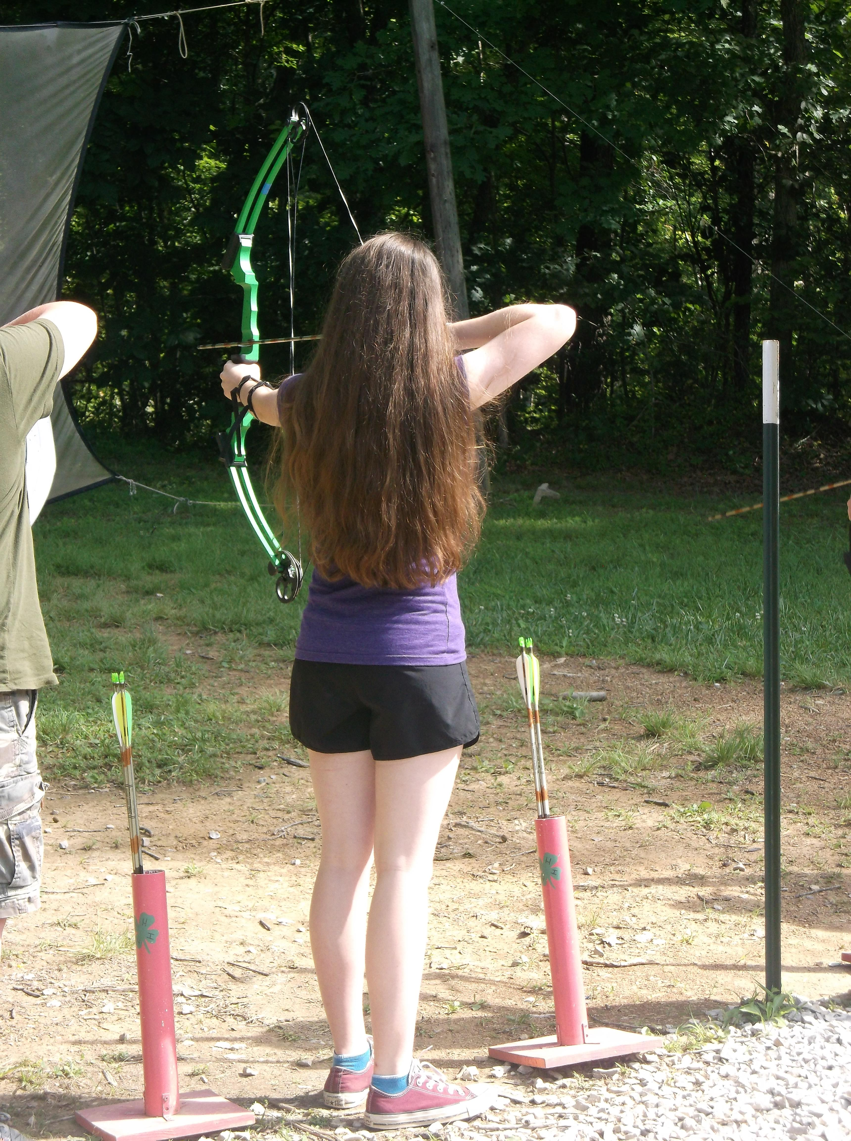 Shooting Sports at 4-H Camp