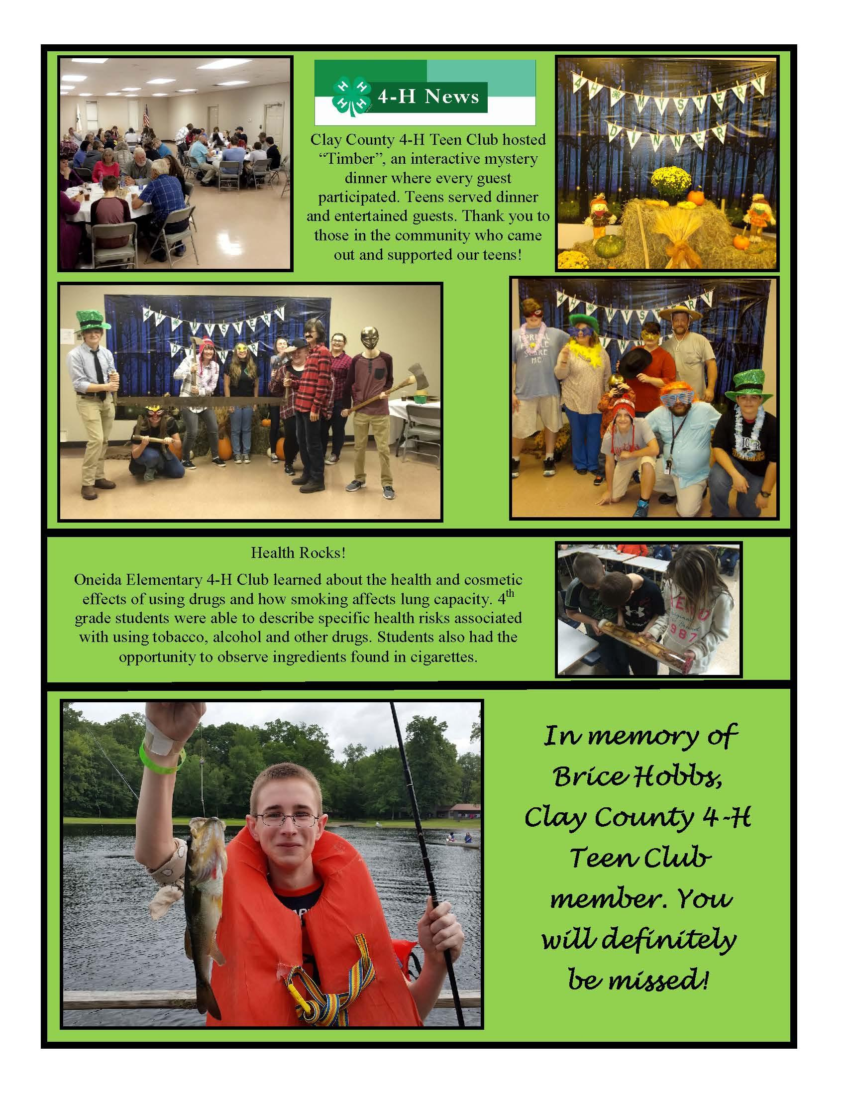4-H News and pictures
